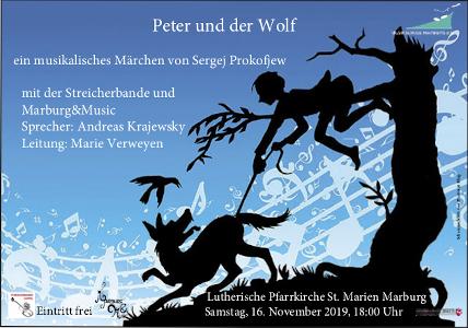 Flyer Peter und der Wolf